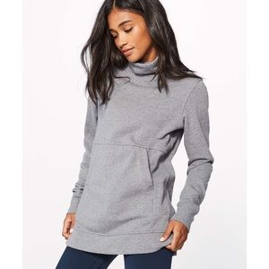 Lululemon Press Pause Pullover w/ Cowl Neck